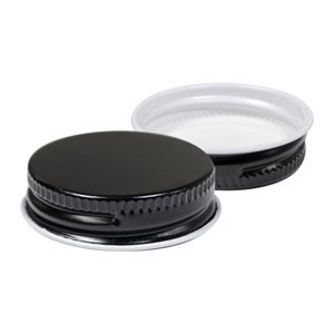 Picture of BLACK METAL LID 38MM FOR 350ML SAUCE BOTTLE